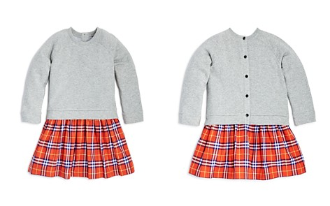 Burberry Girls' Francine Check Skirt Sweatshirt Dress - Little Kid, Big Kid - Bloomingdale's_2