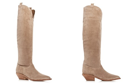 Sigerson Morrison Women's Tyra Suede Western Pointed Toe Boots - Bloomingdale's_2