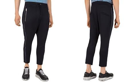 The Kooples Grosgrain-Trim Regular Fit Tapered Sweatpants - Bloomingdale's_2
