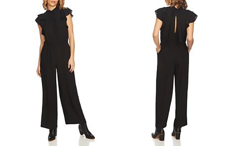 1.STATE Flutter-Sleeve Wide-Leg Jumpsuit - Bloomingdale's_2
