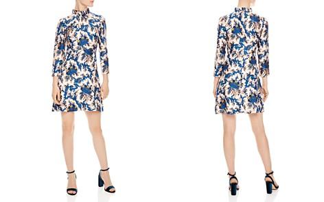 Sandro Utopique Printed Silk Dress - Bloomingdale's_2