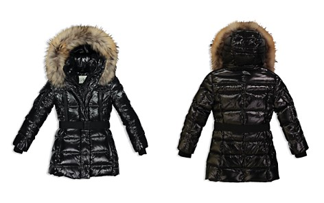 SAM. Girls' Millennium Fur-Trimmed Belted Down Jacket - Big Kid - Bloomingdale's_2