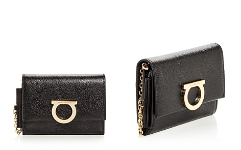 Salvatore Ferragamo Gancini Convertible Leather Clutch - Bloomingdale's_2