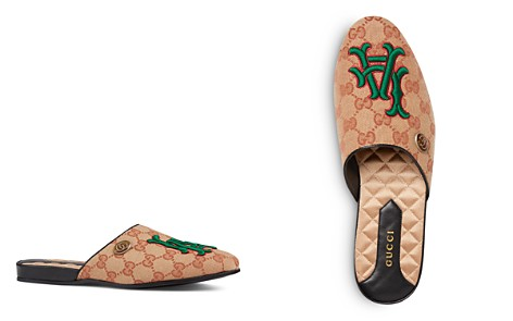 Gucci Women's Los Angeles Angels™ Round Toe Leather Mules - Bloomingdale's_2