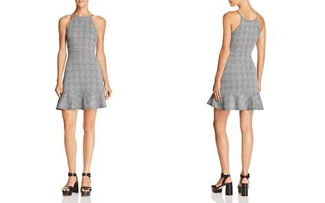 AQUA Glen Plaid Flounce-Hem Dress - 100% Exclusive - Bloomingdale's_2