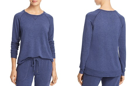 PJ Salvage Lounge Essential French Terry Lounge Top - Bloomingdale's_2