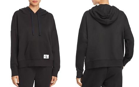 Calvin Klein Monogram Lounge Long-Sleeve Hooded Sweatshirt - Bloomingdale's_2