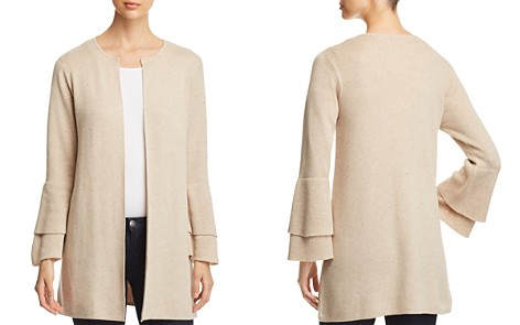 Heather B Open Tiered-Sleeve Cardigan - Bloomingdale's_2