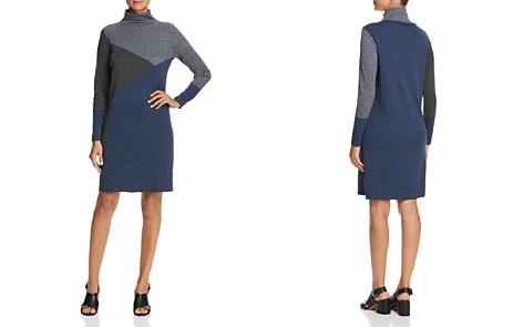 NIC+ZOE Color Block Sweater Dress - Bloomingdale's_2