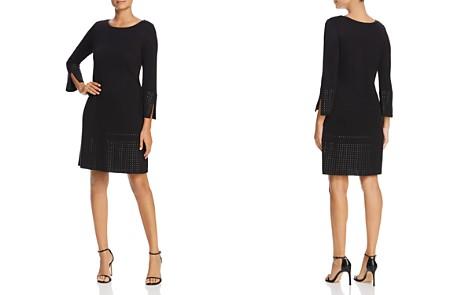 NIC+ZOE Tonal Stud Trim Dress - Bloomingdale's_2