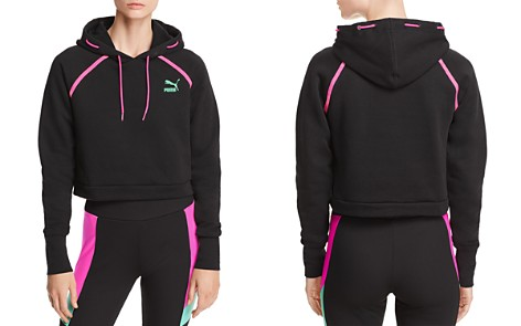 PUMA Reflect Cropped Hooded Sweatshirt - Bloomingdale's_2