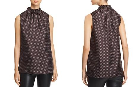 Lafayette 148 New York Percy Printed Silk Blouse - Bloomingdale's_2