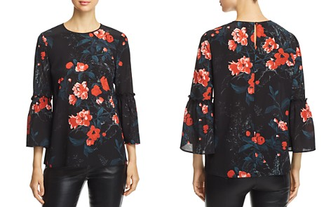 Lafayette 148 New York Roslin Floral Silk Blouse - Bloomingdale's_2