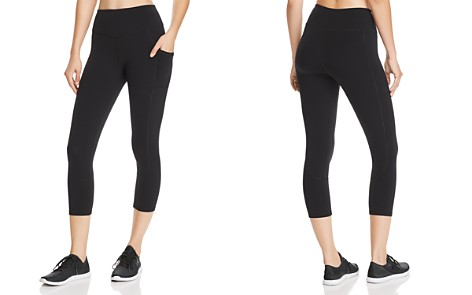 AQUA Athletic High-Waist Cropped Leggings - 100% Exclusive - Bloomingdale's_2