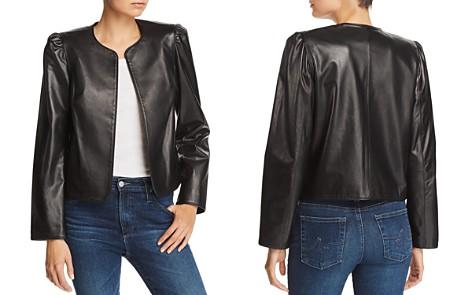 FRAME Leather Bolero - Bloomingdale's_2