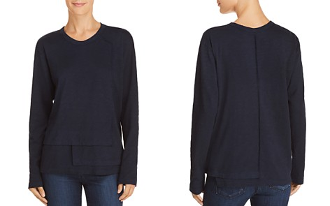 Wilt Long-Sleeve Tiered-Hem Tee - Bloomingdale's_2