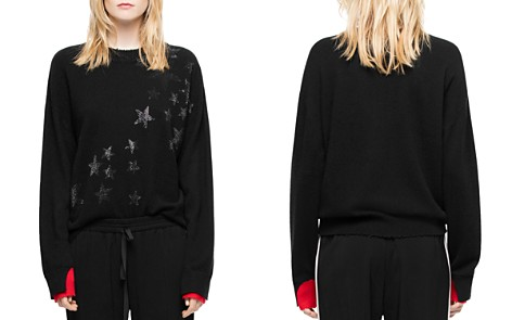 Zadig & Voltaire Gaby Bis Cashmere Sweater - Bloomingdale's_2