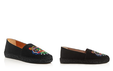 Kenzo Women's Classic Tiger-Embroidered Espadrille Flats - Bloomingdale's_2