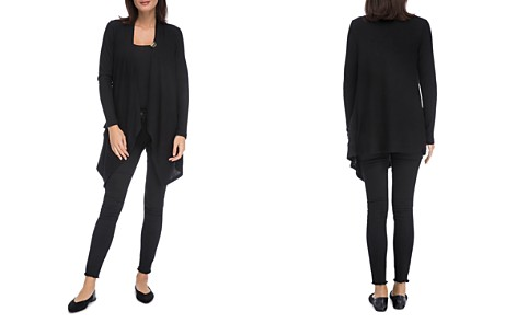 B Collection by Bobeau Draped One-Button Cardigan - Bloomingdale's_2