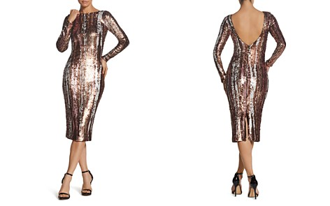 Dress the Population Emery Sequined Dress - Bloomingdale's_2