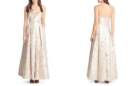 Eliza J Embellished Strapless Gown - Bloomingdale's_2