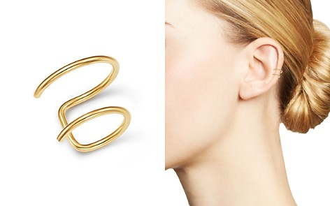 Zoë Chicco 14K Yellow Gold Thin Double Ear Cuff - Bloomingdale's_2