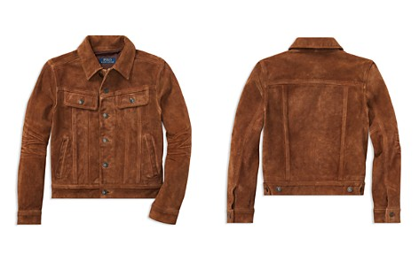 Polo Ralph Lauren Boys' Suede Trucker Jacket - Big Kid - Bloomingdale's_2