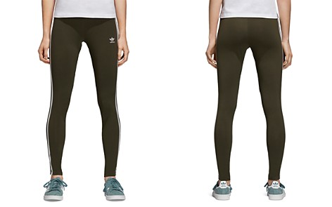 adidas Originals Three Stripe Leggings - Bloomingdale's_2