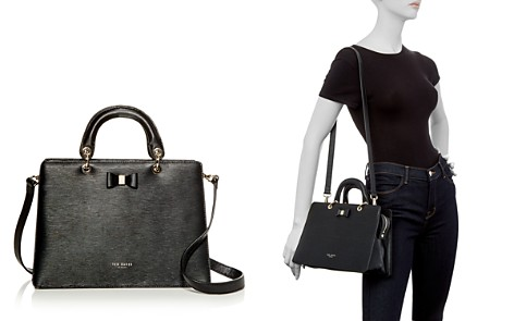 Ted Baker Debiie Small Embossed Leather Convertible Satchel - Bloomingdale's_2