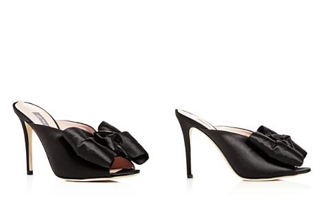 SJP by Sarah Jessica Parker Women's Vesper Satin Bow High-Heel Slide Sandals - Bloomingdale's_2