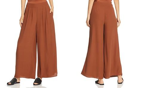 Eileen Fisher Wide-Leg Silk Pants - Bloomingdale's_2