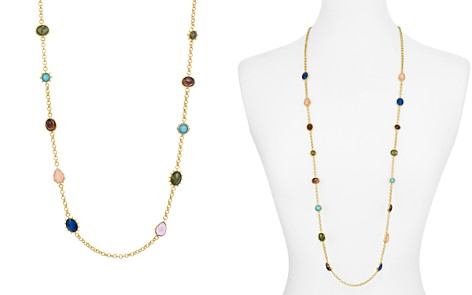 "kate spade new york Scatter Multicolor Stone Station Necklace, 39"" - Bloomingdale's_2"