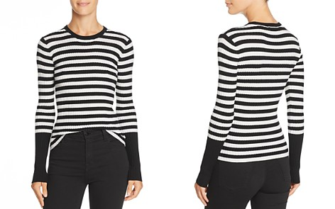 ATM Anthony Thomas Melillo Striped Merino-Wool Sweater - Bloomingdale's_2