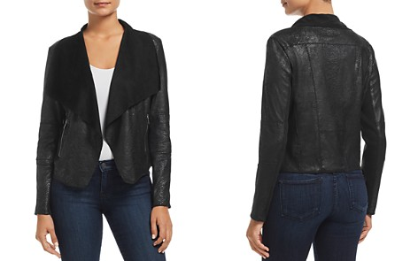 Bagatelle Draped Snake-Embossed Jacket - Bloomingdale's_2