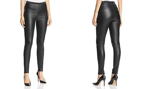 Bagatelle Stretch Leather Leggings - Bloomingdale's_2