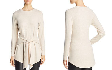 Alison Andrews Waist-Tie Tunic Sweater - Bloomingdale's_2