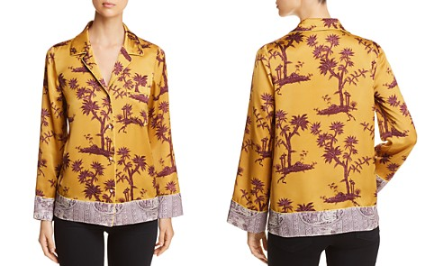 Scotch & Soda Printed Pajama-Style Top - Bloomingdale's_2