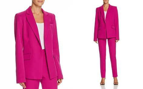 MILLY Open-Front Blazer - Bloomingdale's_2