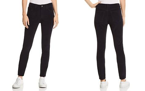 DL1961 Farrow High Rise Corduroy Skinny Jeans in Night Sky - Bloomingdale's_2