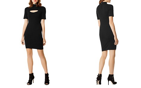 KAREN MILLEN Cutout Body-Con Dress - Bloomingdale's_2