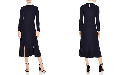 Sandro Peau Ribbed A-Line Midi Dress - Bloomingdale's_2