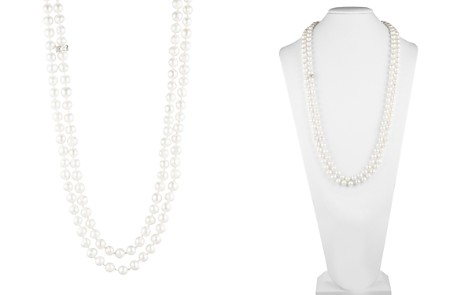 "Carolee Cultured Freshwater Pearl Knotted Strand Necklace, 64"" - Bloomingdale's_2"