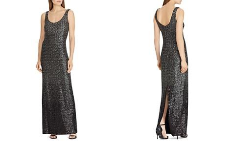 Lauren Ralph Lauren Sequined Sleeveless Gown - Bloomingdale's_2