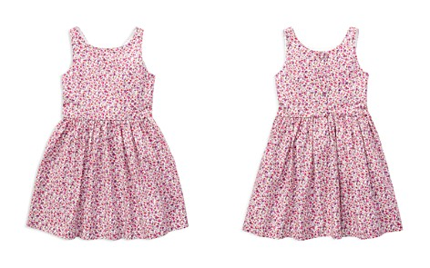 Polo Ralph Lauren Girls' Fit-and-Flare Floral Dress - Little Kid - Bloomingdale's_2