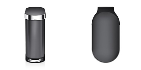 simplehuman 45-Liter Slim Step Trash Can with Liner Rim - Bloomingdale's_2