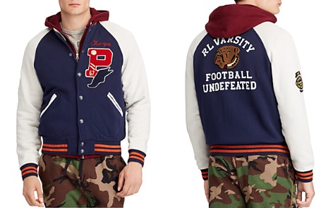 Polo Ralph Lauren Fleece Baseball Jacket - Bloomingdale's_2