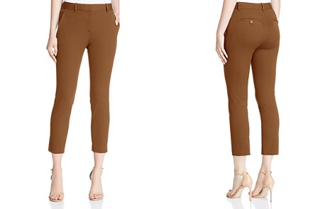 Theory Treeca Cropped Pants - Bloomingdale's_2