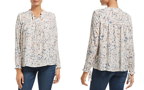 Finn & Grace Floral Ruffle-Trimmed Top - 100% Exclusive - Bloomingdale's_2