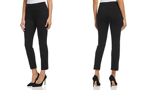 Three Dots Piped Ponte Ankle Pants - Bloomingdale's_2