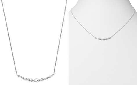 Bloomingdale's Diamond Bar Necklace in 14K White Gold, 0.30 ct. t.w. - 100% Exclusive_2